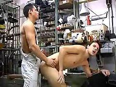 Workers going horny in repair shop
