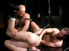 Lusty twink spreads legs for bear dilfs