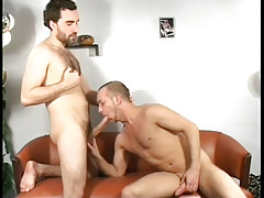 Horny homo studs suck each other off in 3 video